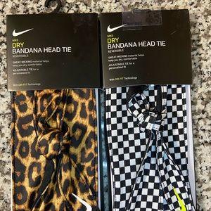 Nike• (2) Dry Bandana Head Tie
